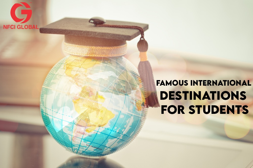 international destination for students